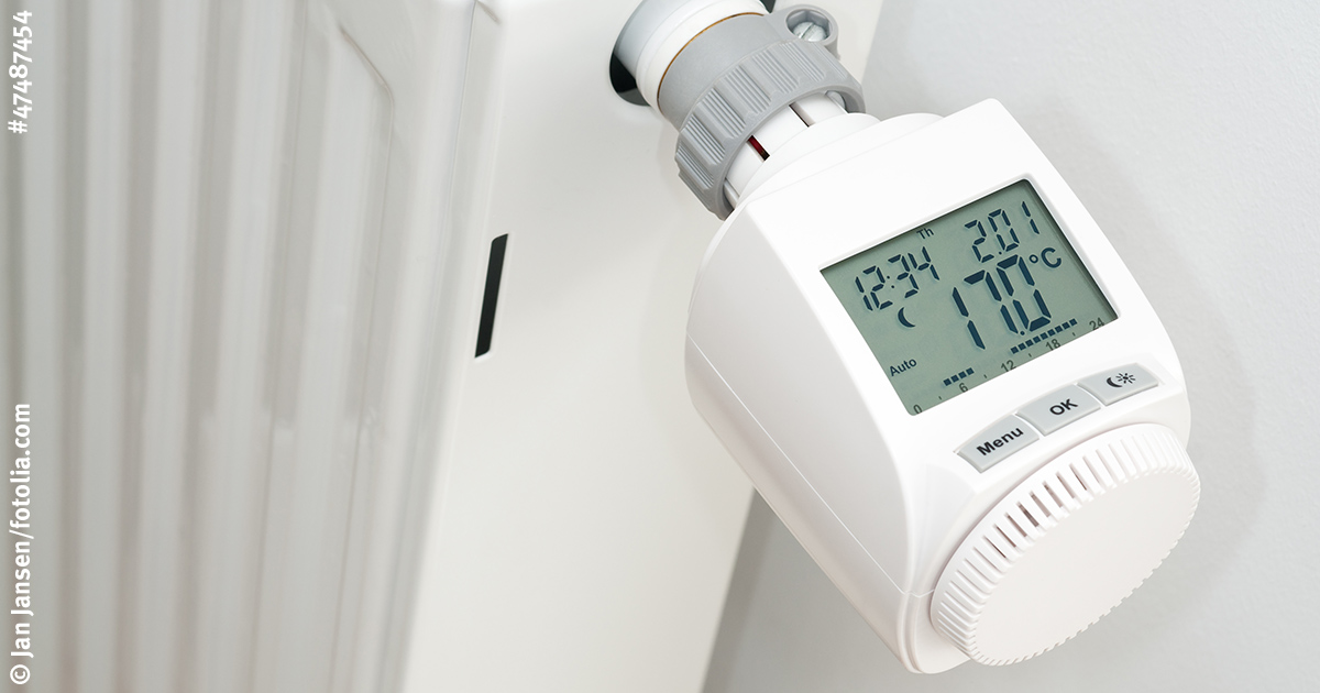 Thermostat einstellen